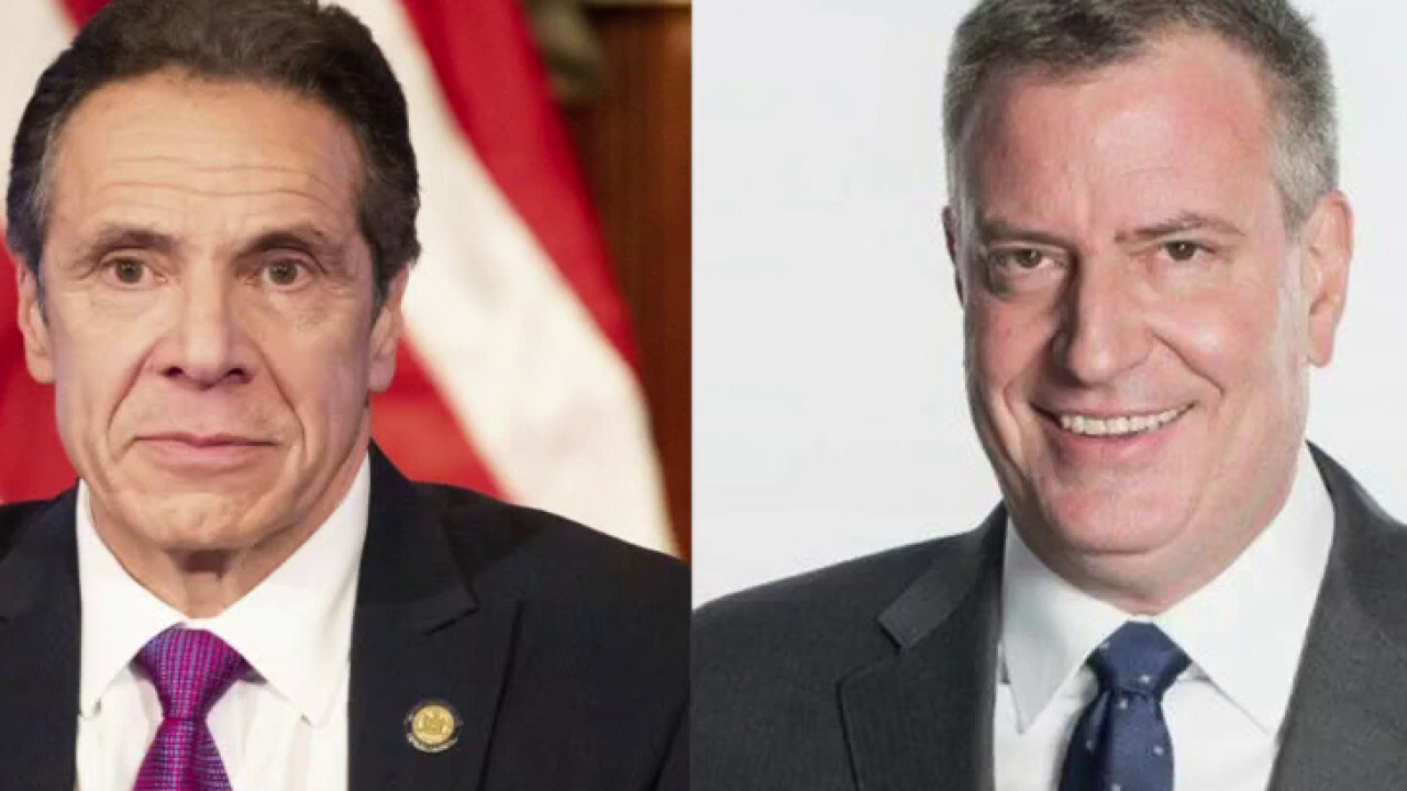 New York governor, NYC mayor feud over COVID vaccine rollout