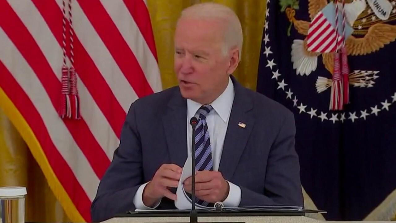 Biden cracks joke when pressed on Afghanistan evacuation plans