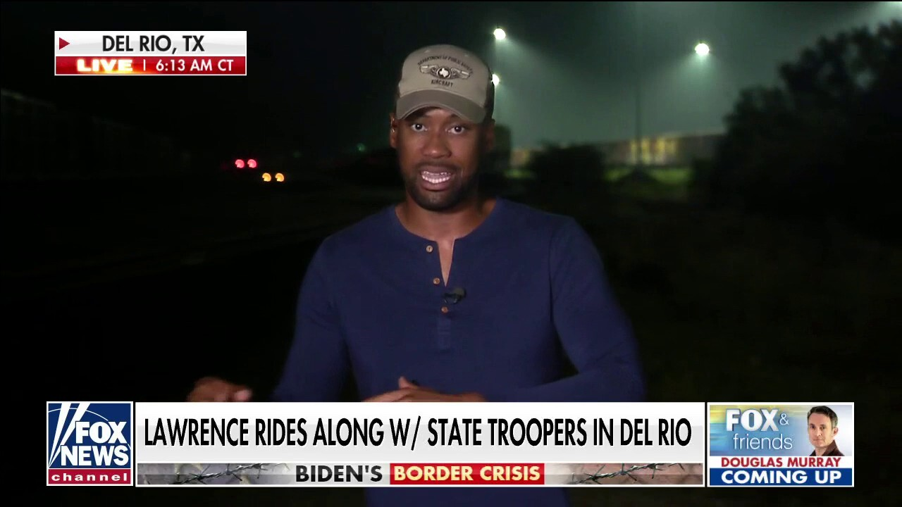 Lawrence Jones goes on ride-along with Texas Department of Public Safety