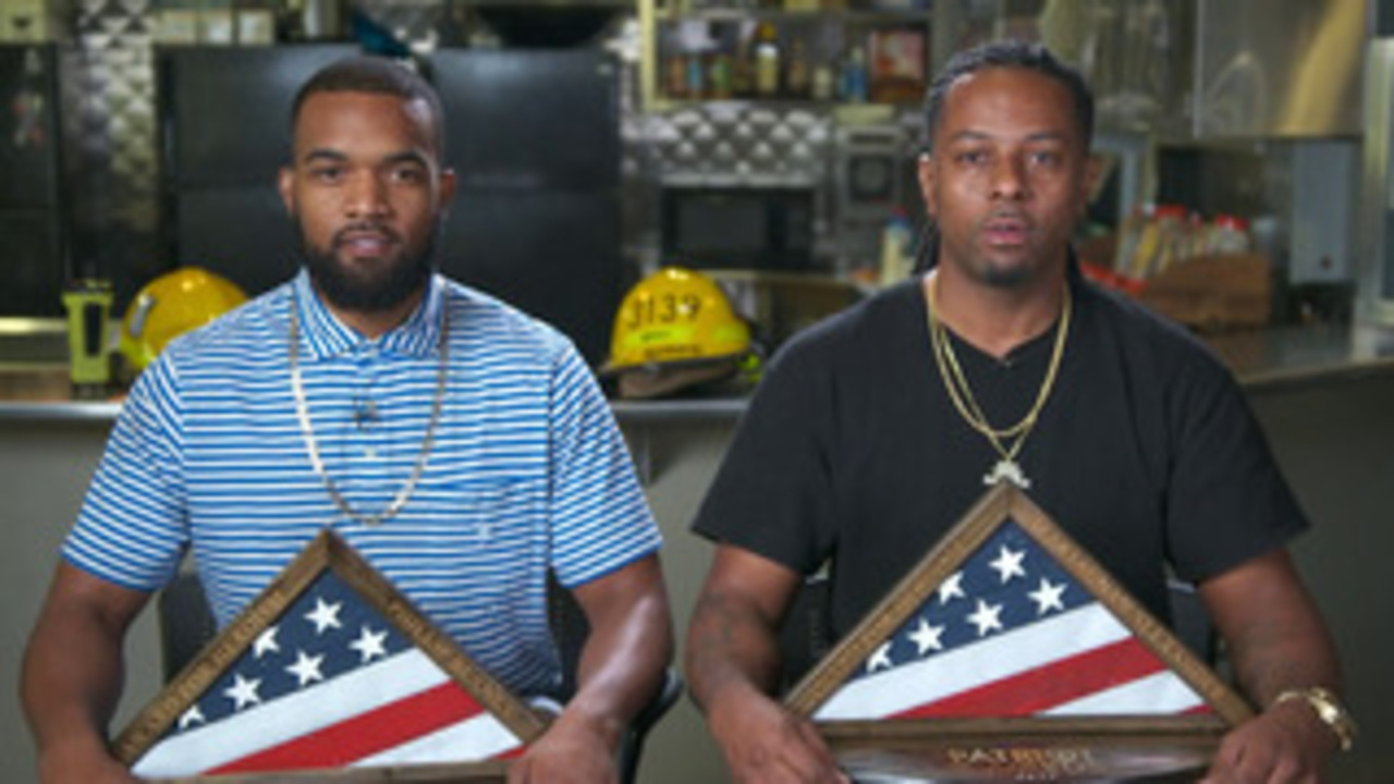 Patriot Awards 2020: Phillip Blanks and D'Artagnan Alexander receive 'Heroism' award