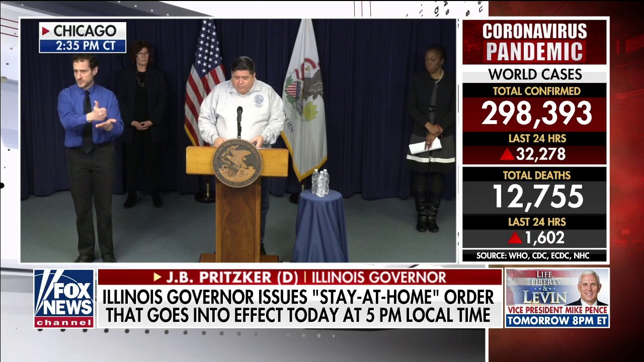 Illinois Gov. Pritzker slams 'profoundly unamerican' 'racist speech' about coronavirus