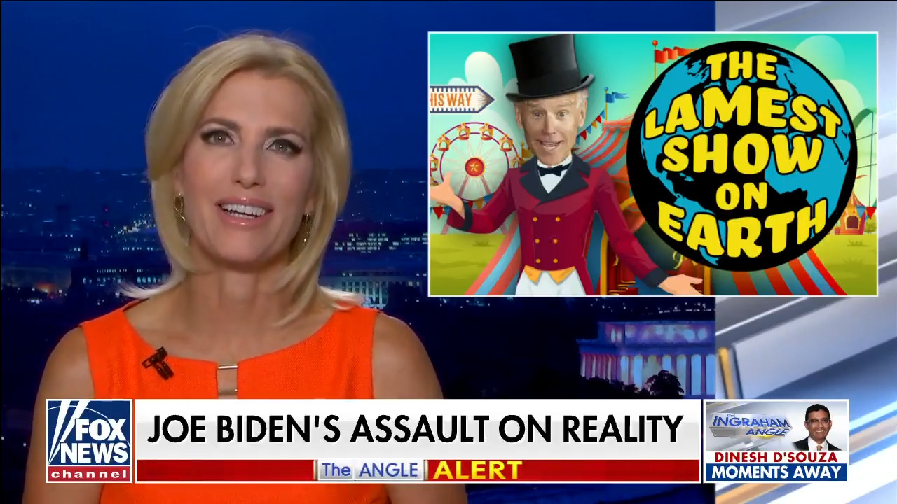 Ingraham: Opposing voter ID, Biden tries to save Dems' future right to cheat the vote