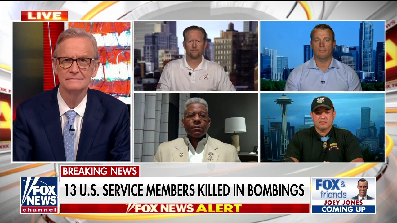 US veterans rip Biden's Afghanistan withdrawal after deadly Kabul bombings