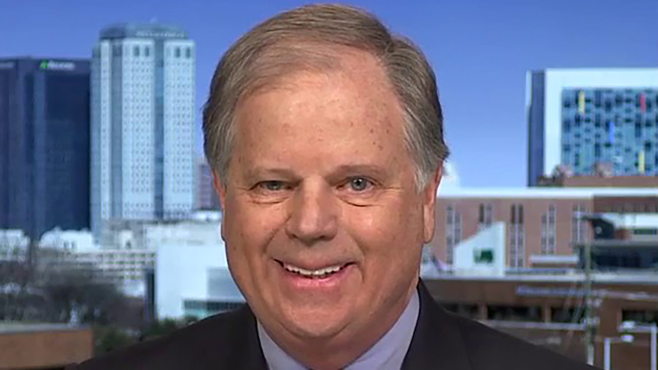 Biden supporter Sen. Doug Jones says there's still a long way to go in the primary race