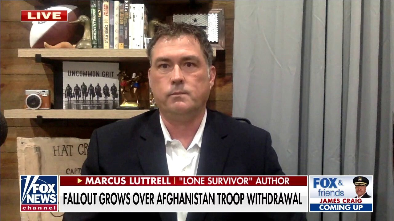 Marcus Luttrell to Biden on Afghanistan: Let's go get our people