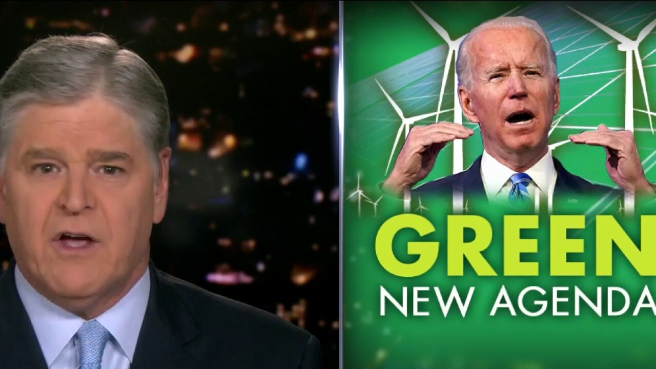 Hannity warns Biden, Democrats will hurt working Americans with tax hike plan
