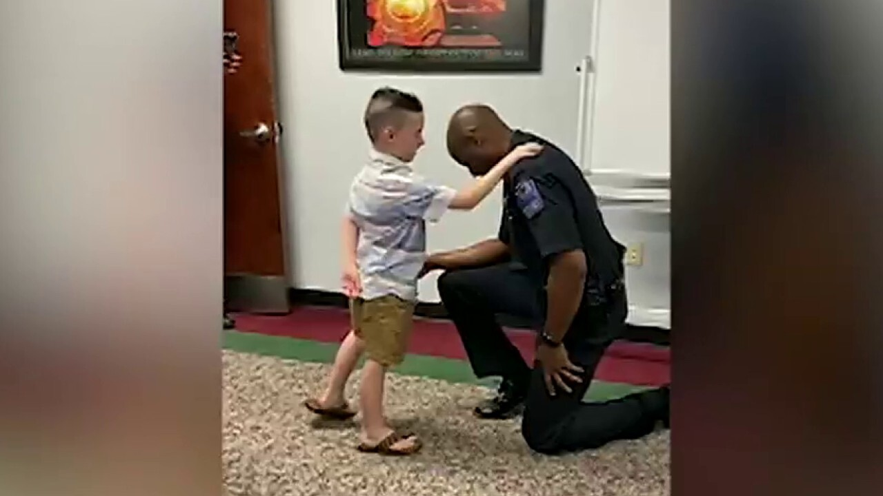 7-year-old prays for Tulsa officers, police chief amid protests
