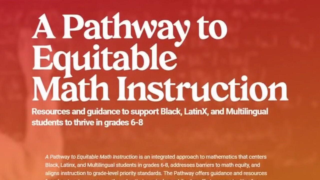Oregon school officials' bid to 'undo racism in math' is disrespectful to Black community: Hunt