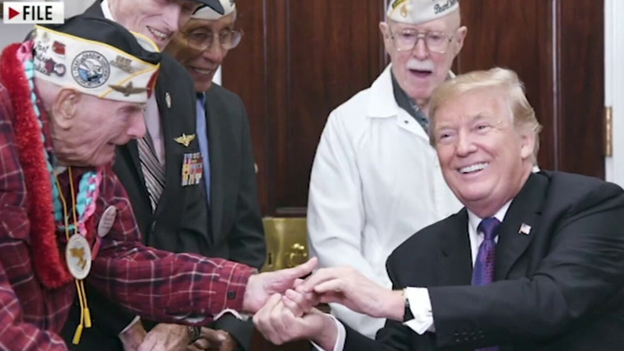 Purple Heart recipient: Trump has done more for veterans than any other president