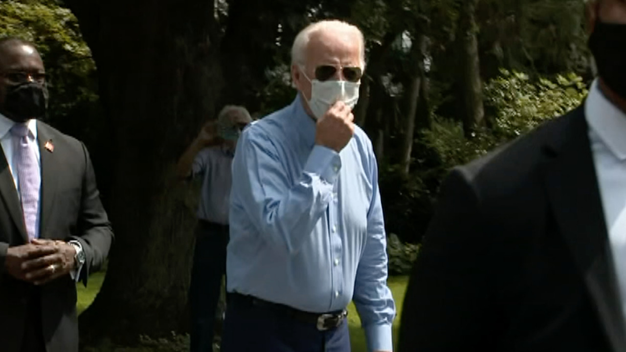 Biden: Trump is undermining public confidence in coronavirus vaccine