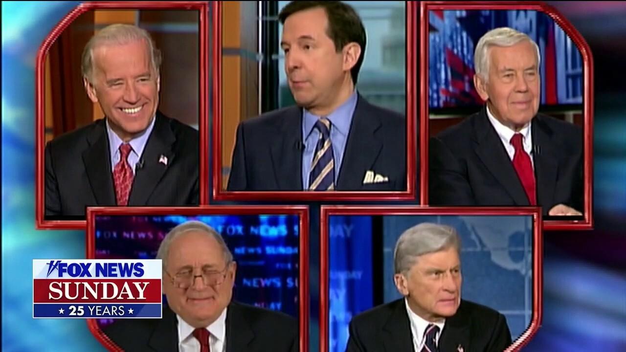 Celebrating 25 years of 'Fox News Sunday'