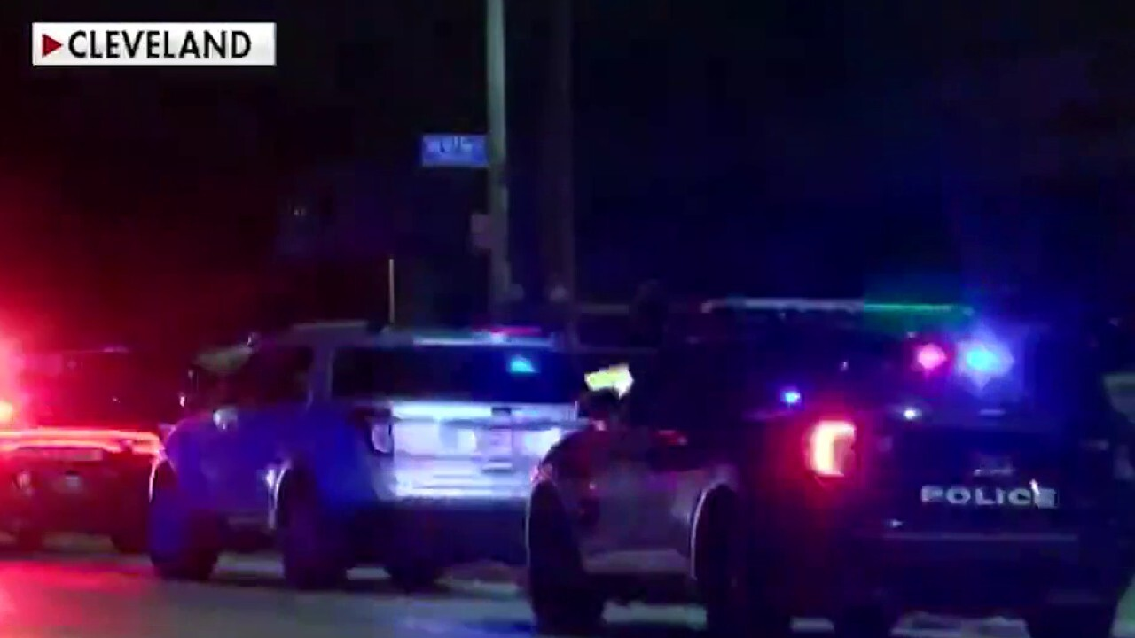Two suspects arrested in killing of Cleveland cop