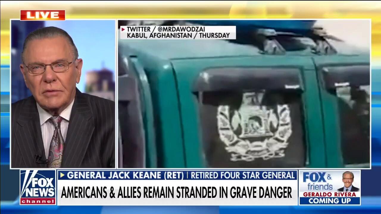 Jack Keane: US should declare Taliban 'a foreign terrorist organization'
