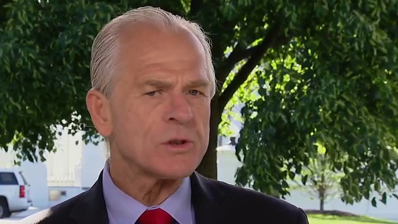 Peter Navarro calls out 'pity party': 'This is not the Great Depression'
