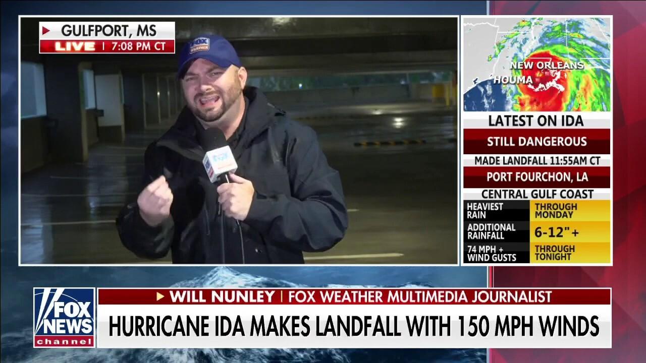 Hurricane Ida 'wreaking havoc,' makes landfall with 150 MPH winds