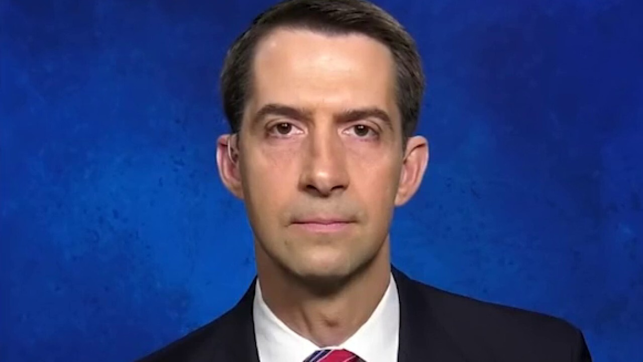 Sen. Cotton: Contrast between China's words and actions signaled it was time to sound alarm about coronavirus