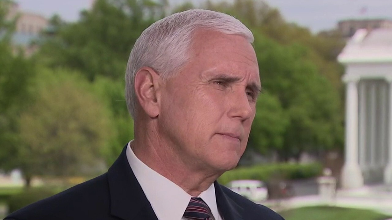 Pence tells Laura Ingraham that Trump is working to reopen economy while protecting Americans' safety, privacy