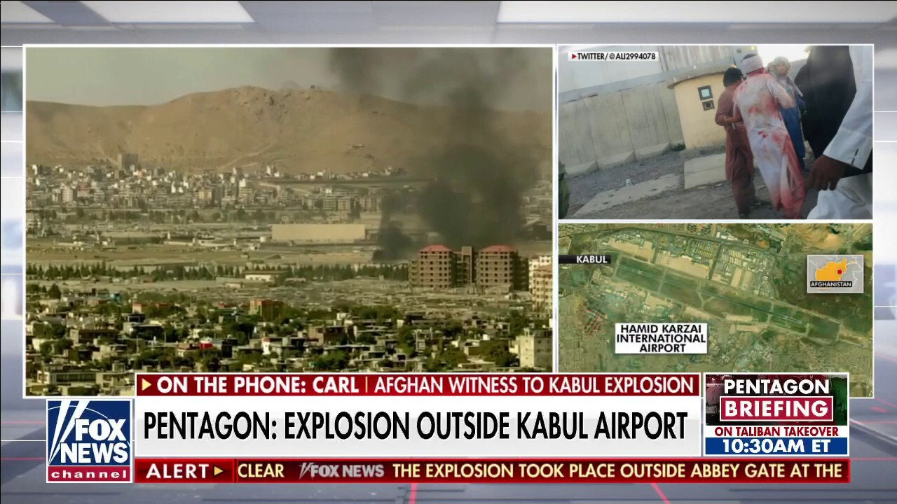 US officials describe suicide bombing, 'complex attack' at Kabul airport