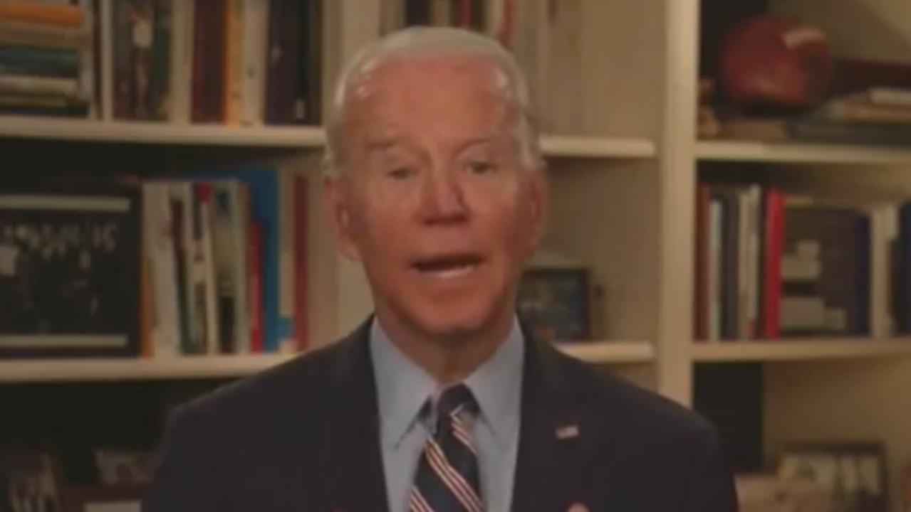 2020 in 60: Joe Biden hosts first coronavirus shadow briefing