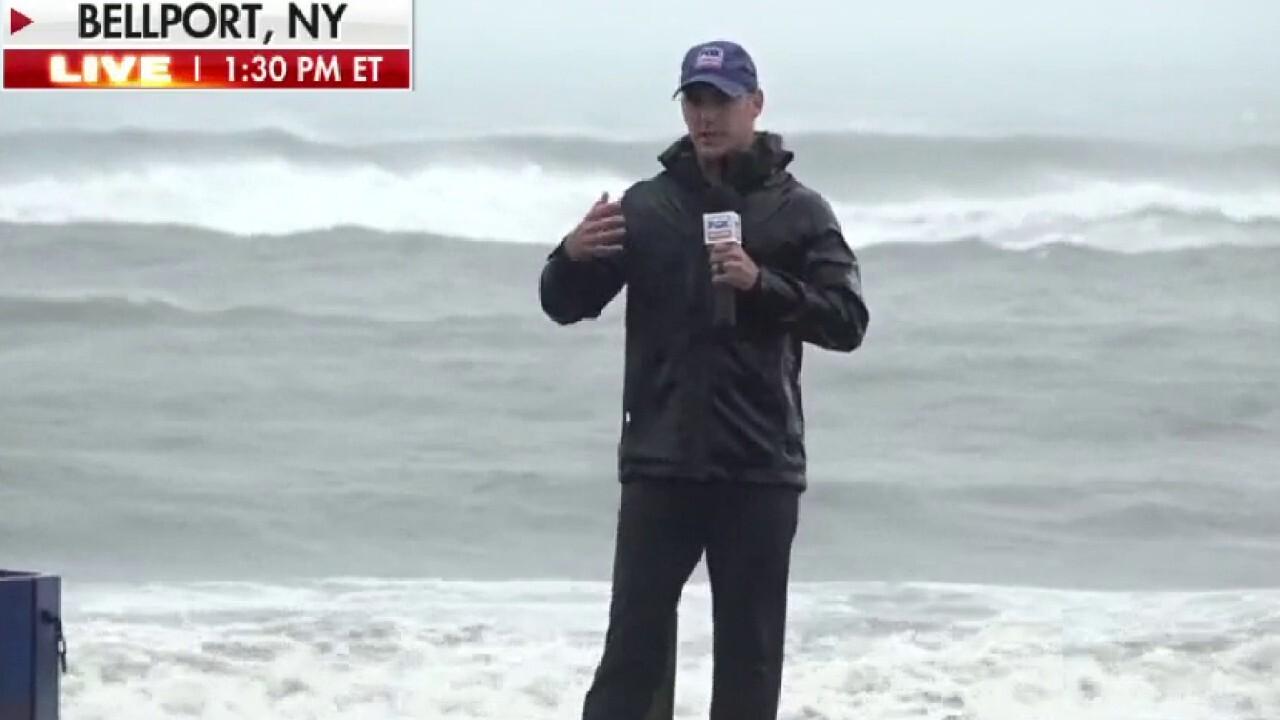 Tropical Storm Henri pummels New England coast
