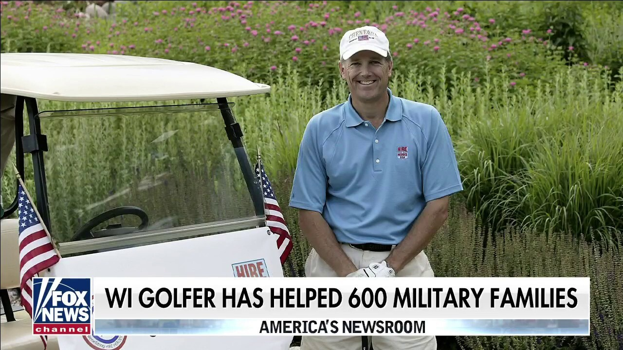 Wisconsin golfer plays 114 holes to raise money for veterans