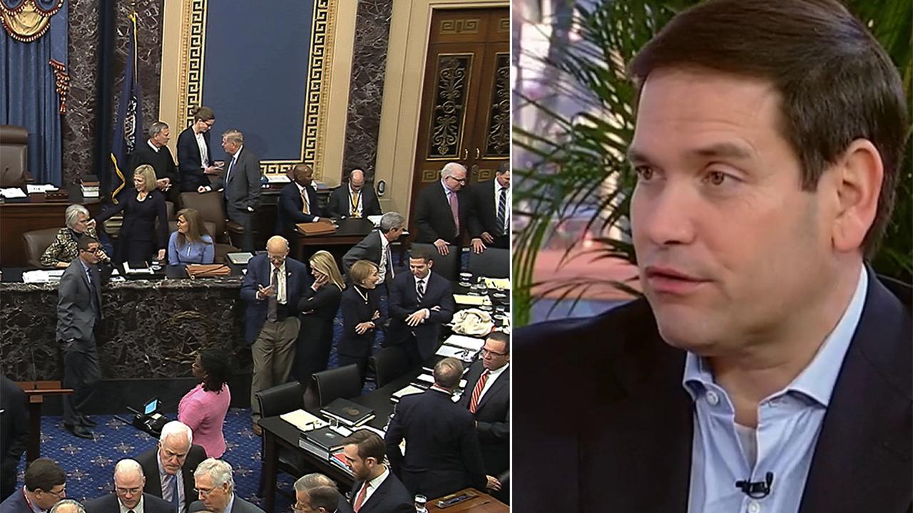 Sen. Rubio on decision to vote no on additional impeachment witnesses
