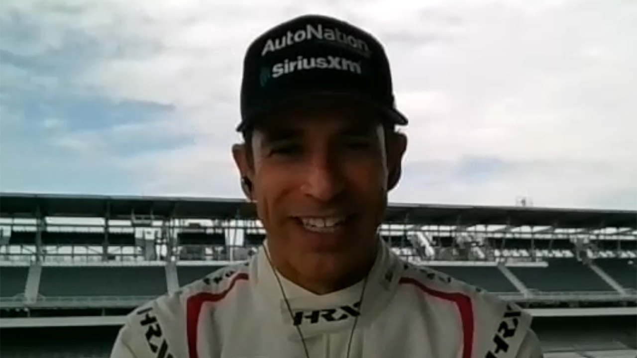 Indy 500 winner Helio Castroneves says 'You gotta believe in yourself'