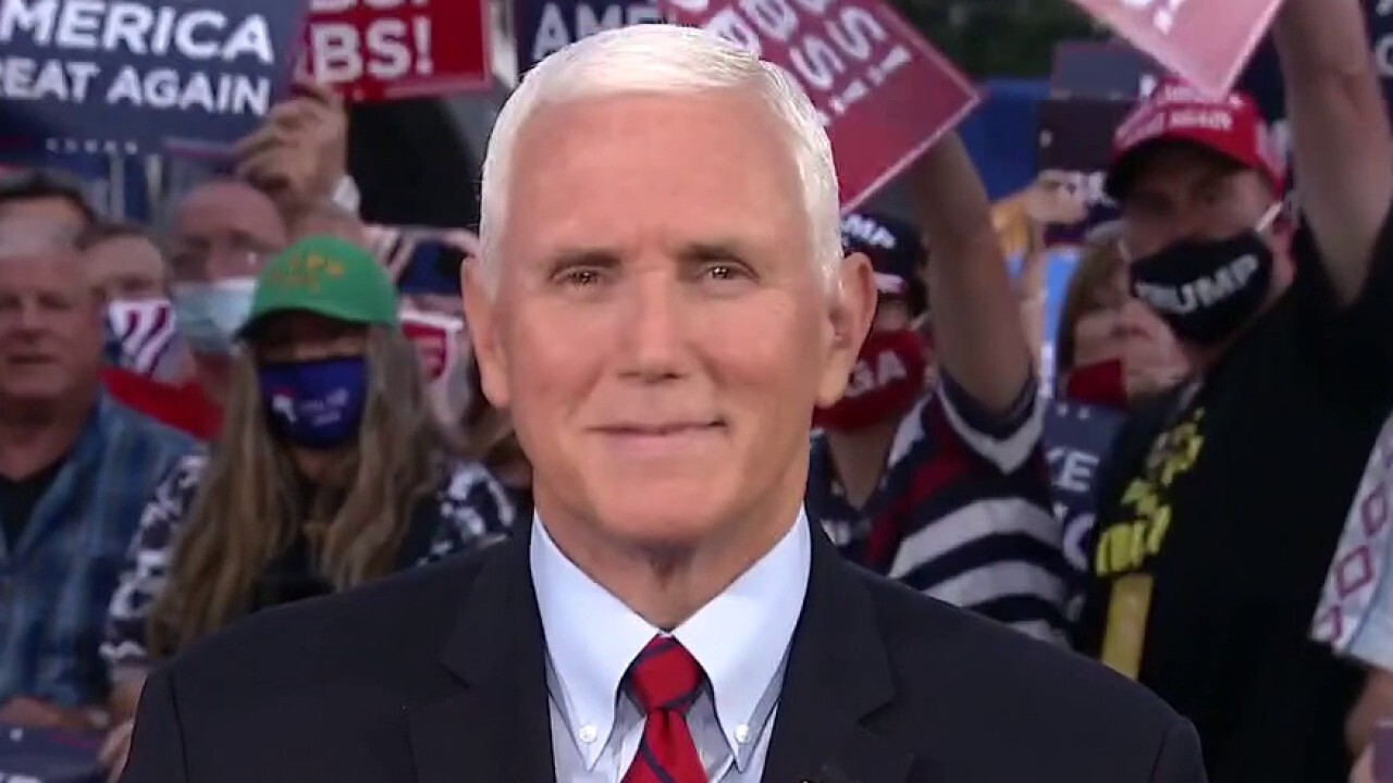 VP Pence: Pennsylvania is Trump country now