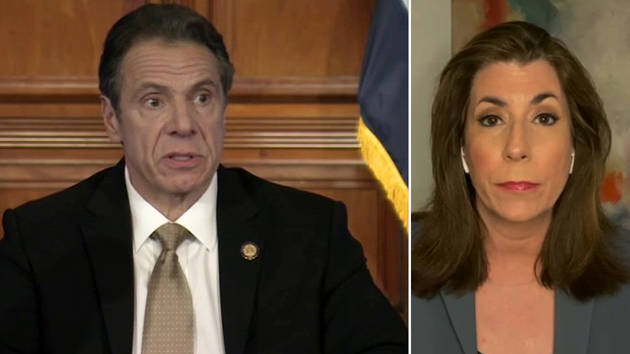 Tammy Bruce: Cuomo's level of contempt against stay-at-home protesters is 'extraordinary'