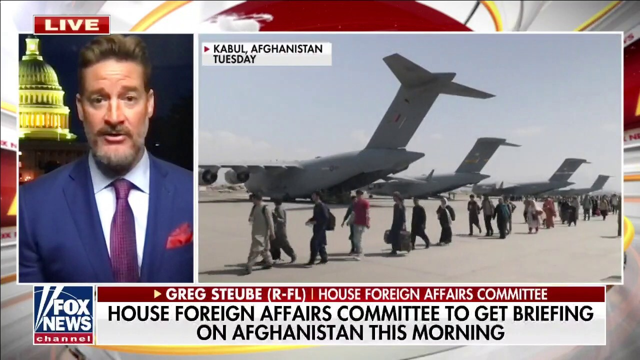 Rep. Steube: 'How many Americans are stuck behind enemy lines?'