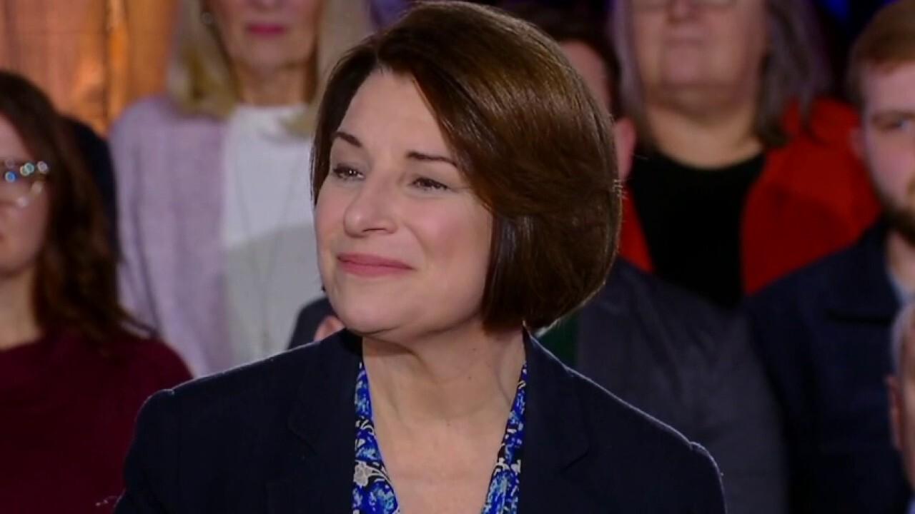 Klobuchar defends Dems' quash of 20-week abortion ban