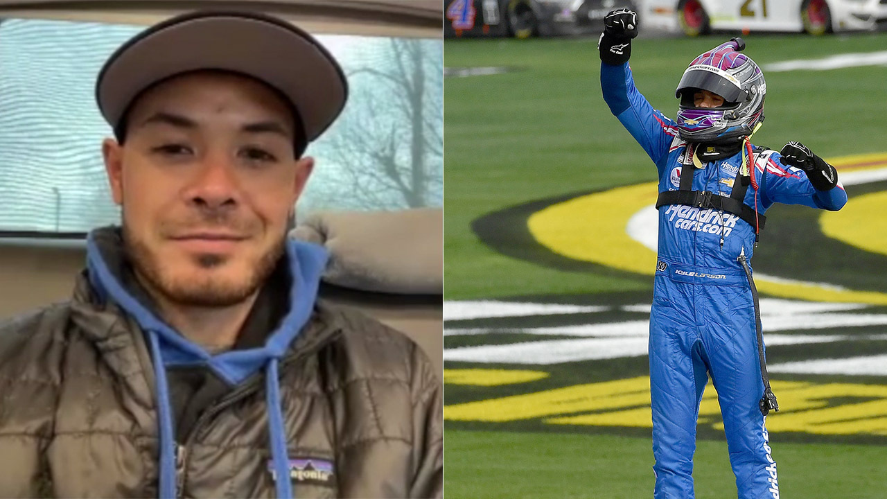 Kyle Larson: 'There's always going to be doubters'