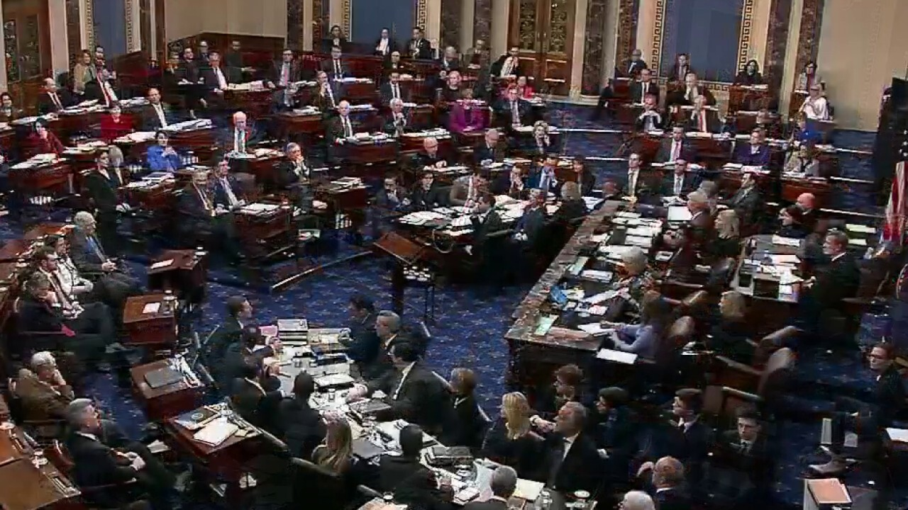 Senators vote 51-49 to reject motion to call witness at impeachment trial