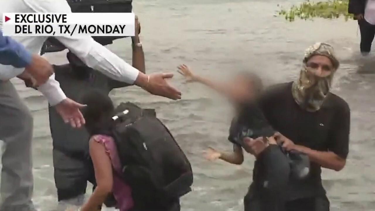 Tom Homan on Fox News video of migrants crossing border: 'This is unbelievable'