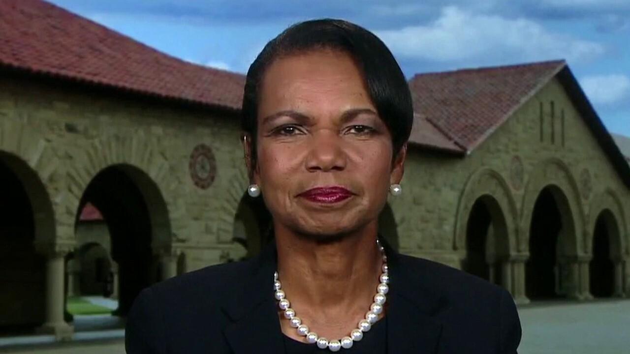 Condoleezza Rice looks back on 9/11 attacks