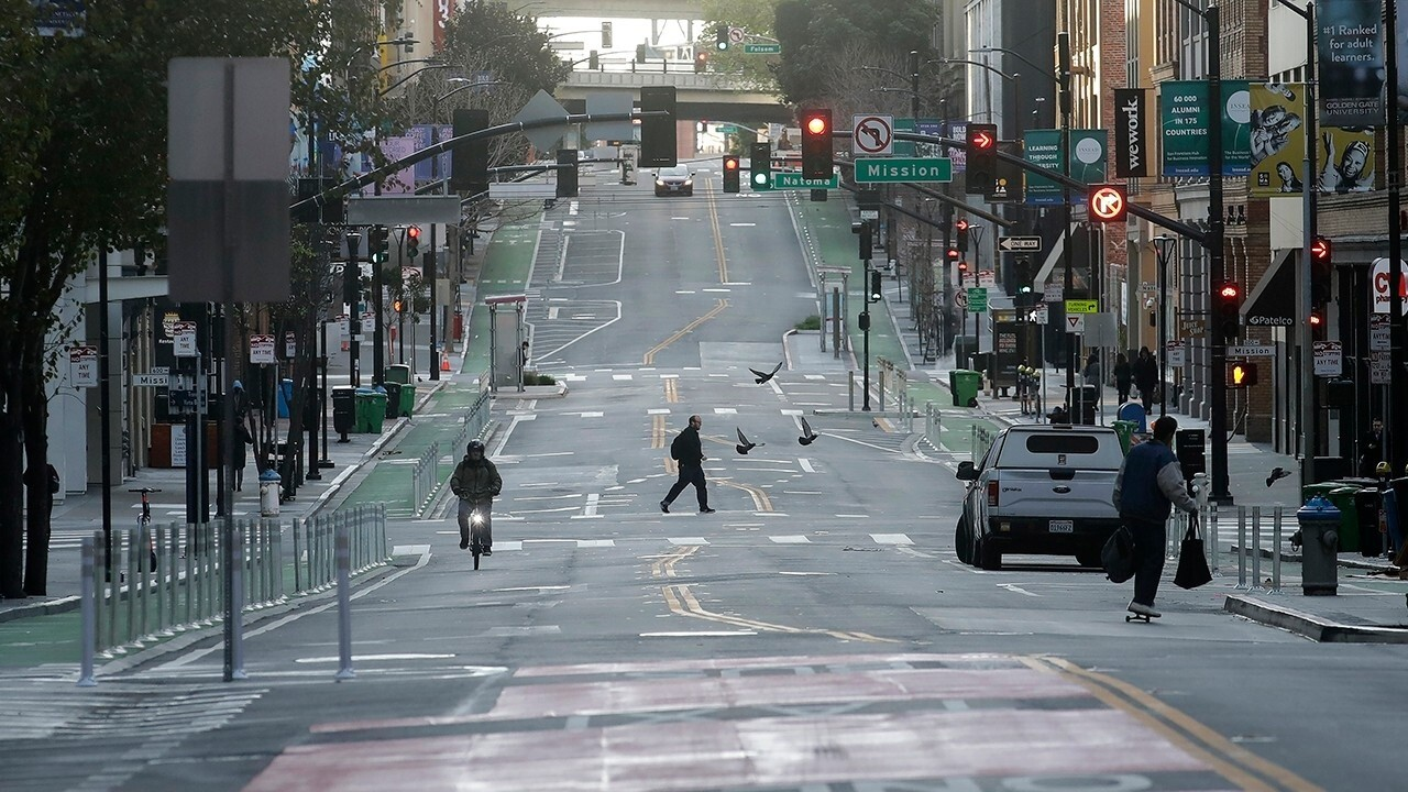 San Francisco goes into 24-hour lockdown for 3 weeks