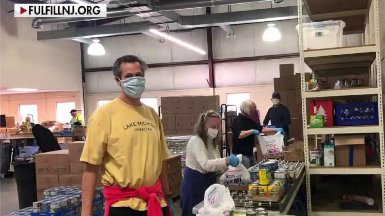 Food banks facing surge in demand amid coronavirus pandemic