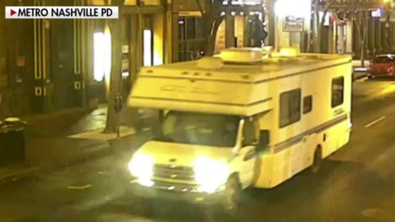 Nashville police release photo of RV involved in explosion