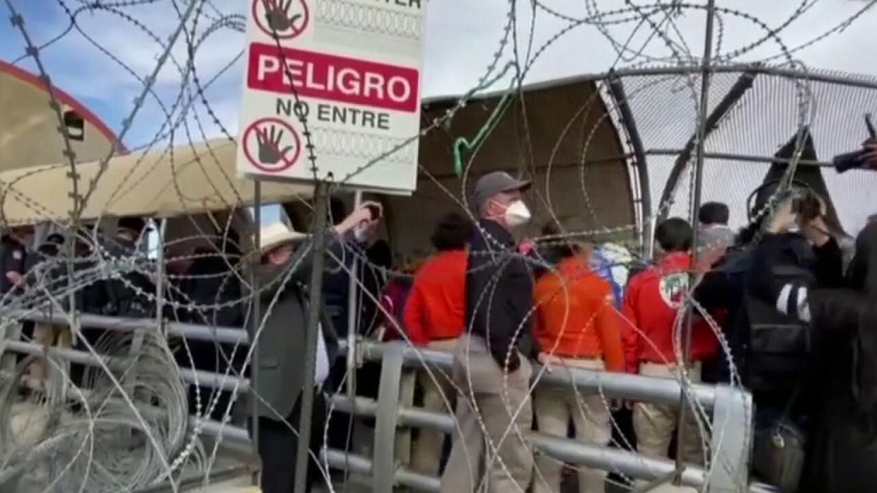 Biden admin faces pressure over migrant surge at southern border
