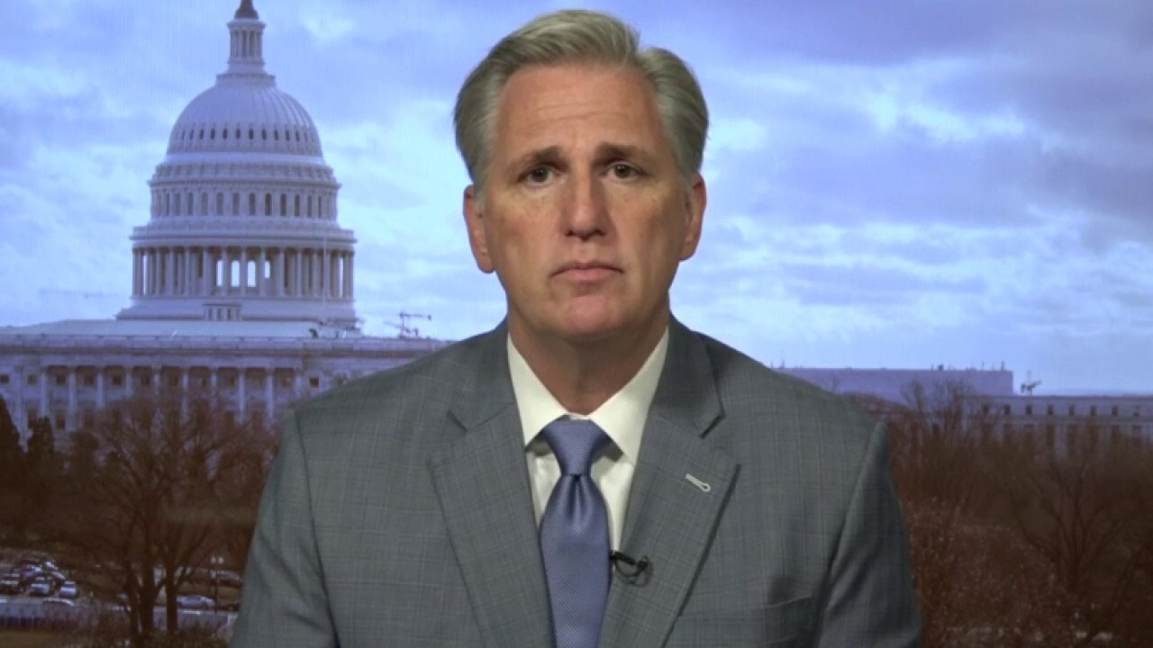 Rep. McCarthy calls out Pelosi, Democrats for delaying small business relief