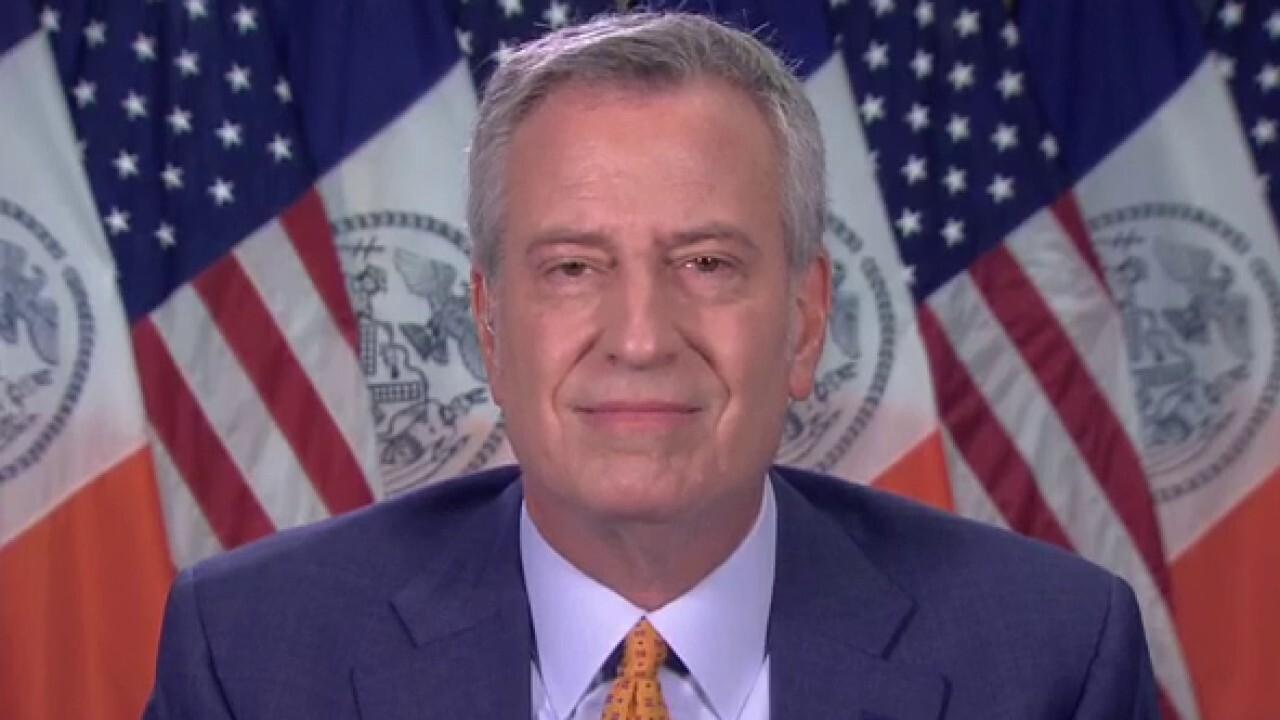 New York City Mayor Bill de Blasio discusses why the state needs over $7 billion in the coronavirus stimulus package on 'Sunday Morning Futures.'