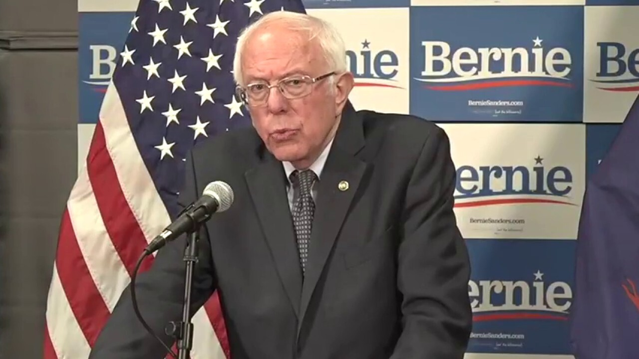 Bernie Sanders calls on President Trump to declare a national emergency in response to coronavirus pandemic
