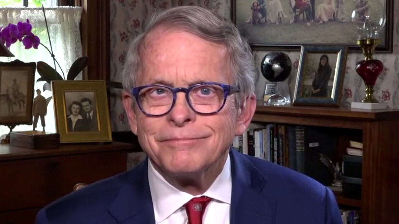 Ohio Gov. Mike DeWine joins Chris Wallace on 'Fox News Sunday.'