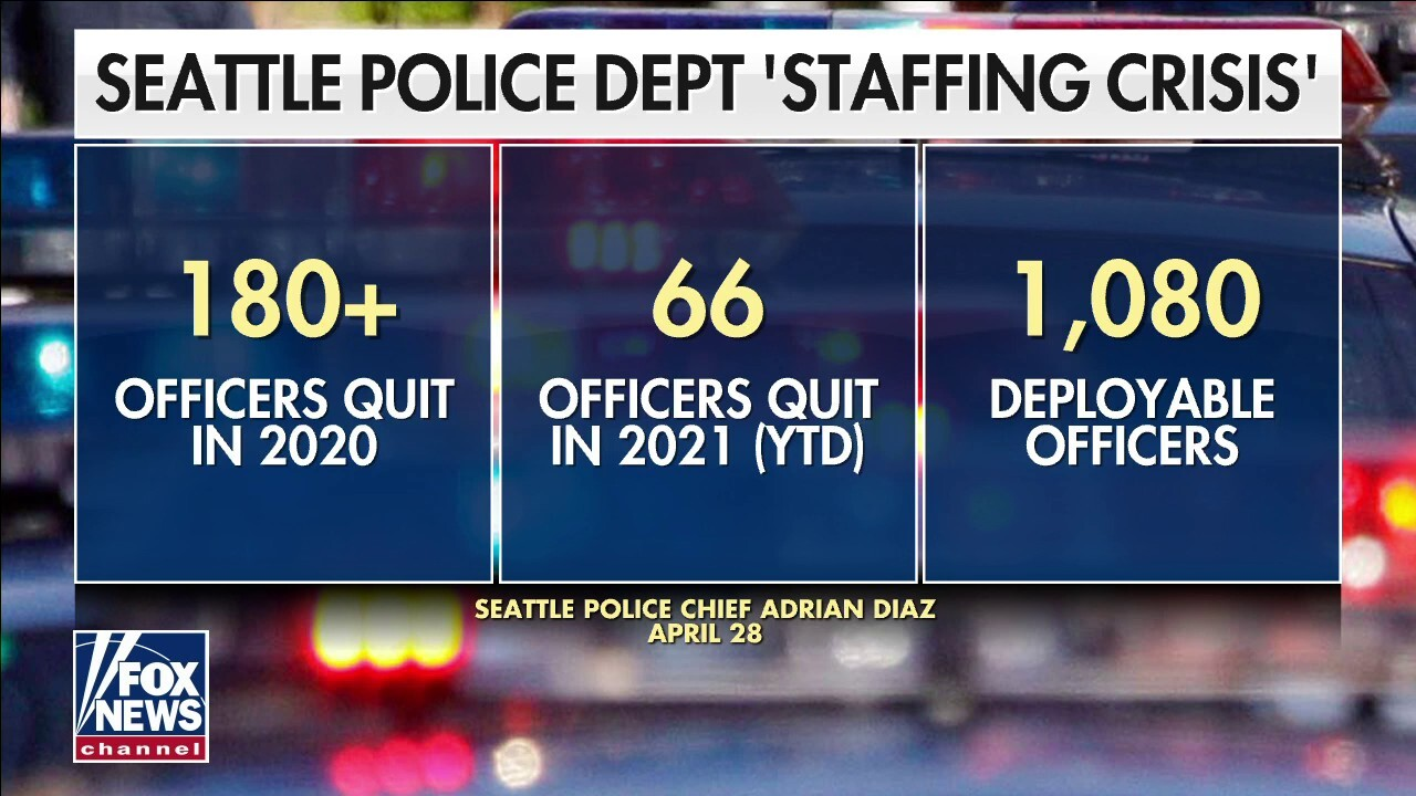 Seattle police face staffing crisis