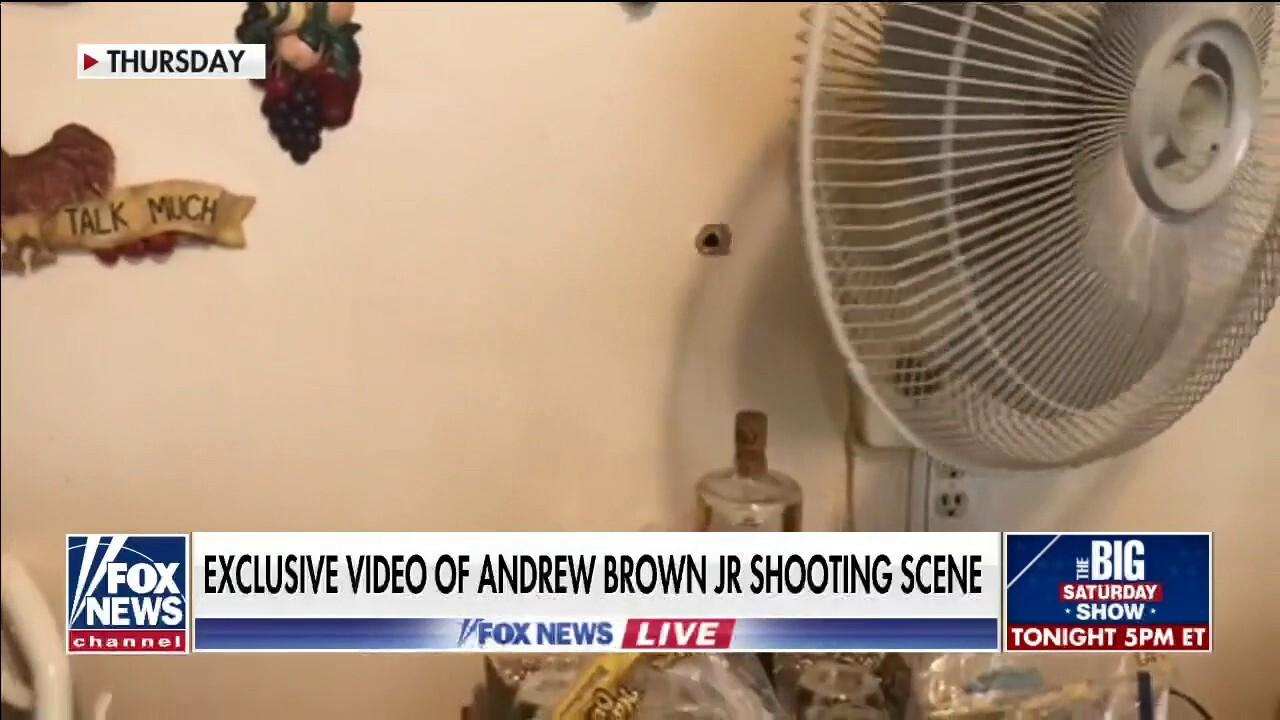 Exclusive look at Andrew Brown Jr. shooting scene