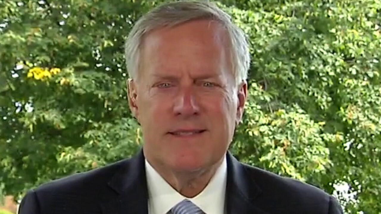 Mark Meadows on WH response to Jacob Blake shooting: Trump's trying to 'not make this political'