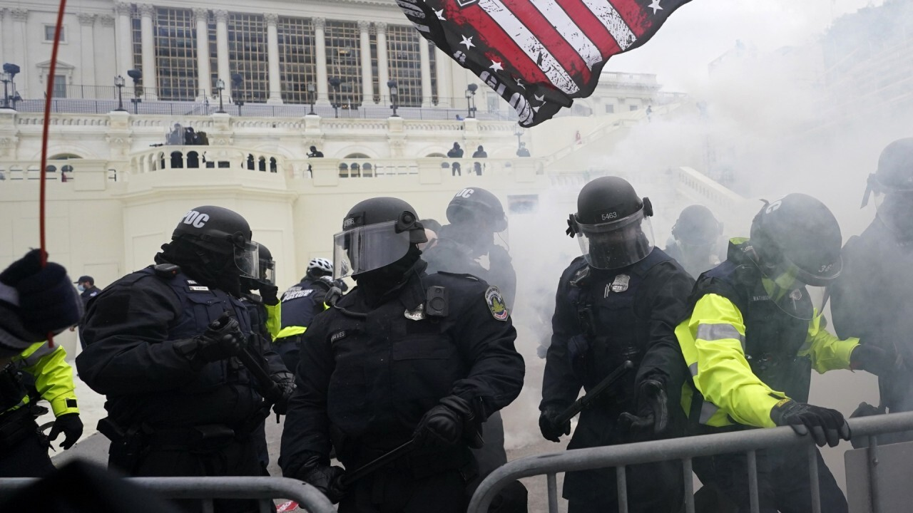 Capitol police faulted in riot
