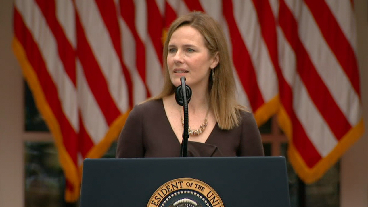 Trump nominates Amy Coney Barrett to fill Supreme Court seat