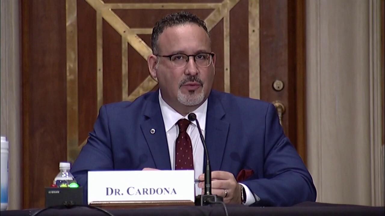 Sen. Paul presses Education Secretary nominee Miguel Cardona on transgender students in athletics