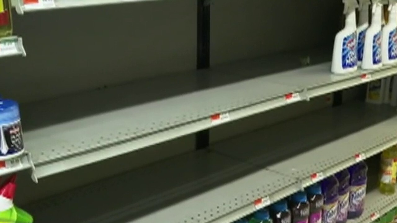 Stores struggle with supply as consumers stock up amid coronavirus crisis